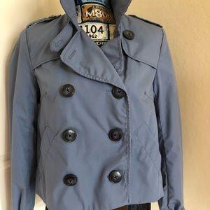 Short Trench Coat Style - Size 8 - Vintage